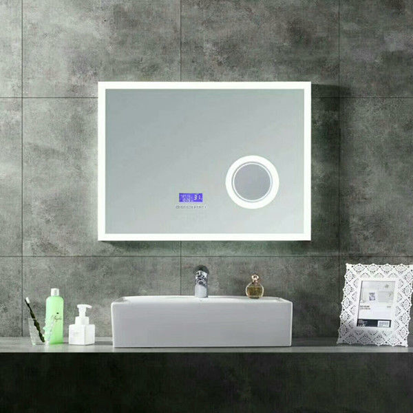 Smart Light Up Vanity Wall Mirror With Radio / Shower Mirror With Bluetooth Speaker