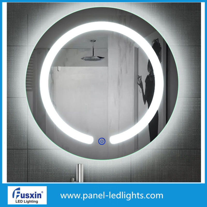 High Brightness Makeup LED Strip Mirror Wall Mounted For Bathroom