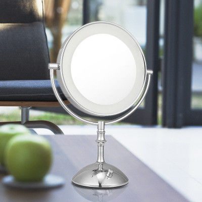 Magnifying 3X Cosmetic Double Sided Lighted Makeup Mirror White / Warm Whita Can Change