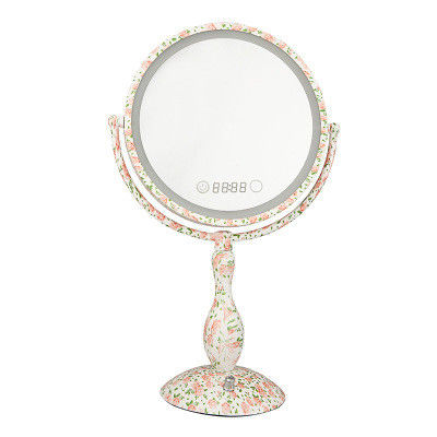360° Moving Portable Light Up Vanity Mirror Two - Sided Wall Mout