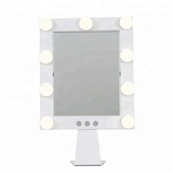 Hollywood Vanity Mirror With Lights 25*30cm 9pcs LED Bulb Mirror