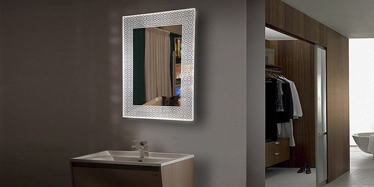 Wall mounted bathroom LED Backlit Mirror with bluetooth 500x700x39mm