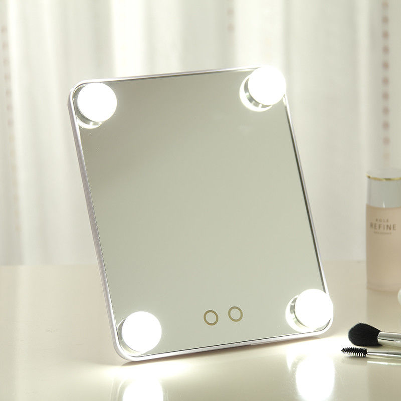 Amazon Hollywood color bulbs led colorful frame cosmetic mirror for vanity makeup girls